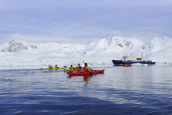 Aurora Expeditions in the Antarctic