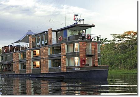 Explore the mighty Amazon on Evergreen Tours' Aqua Amazon