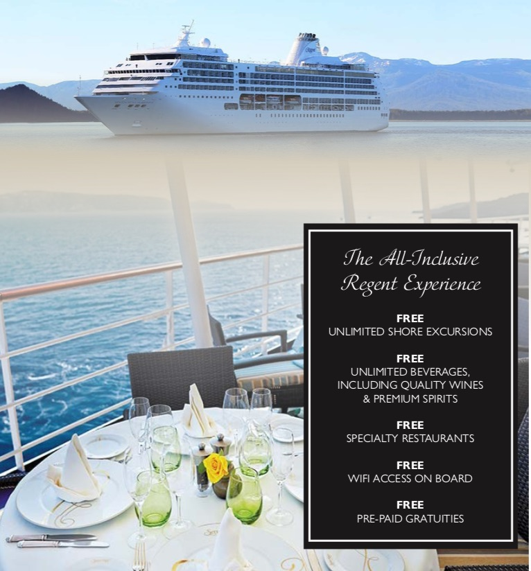 Travel Masters' South America Cruise Ship & Inclusions