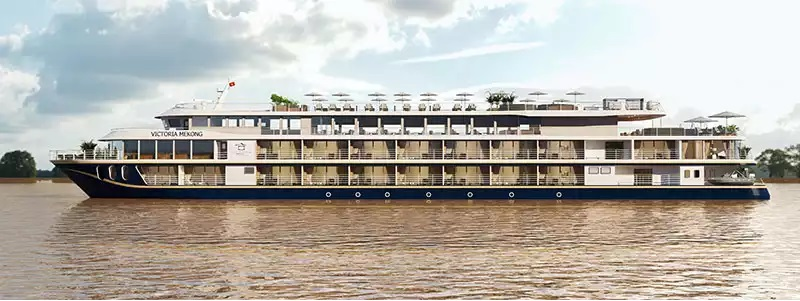 The luxurious Victoria Mekong