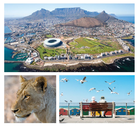 The Best Spots of South Africa.
