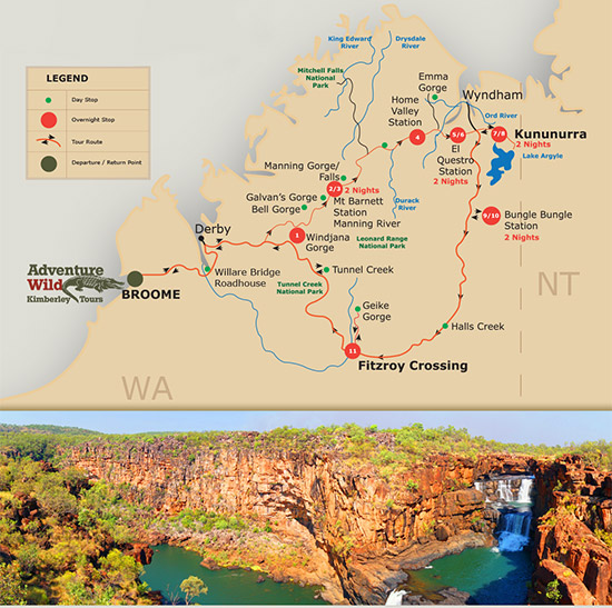 Your Kimberley experience will be the adventure of a lifetime.