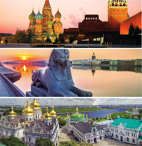 Tailor-made travel through Russia and neighbouring countries.