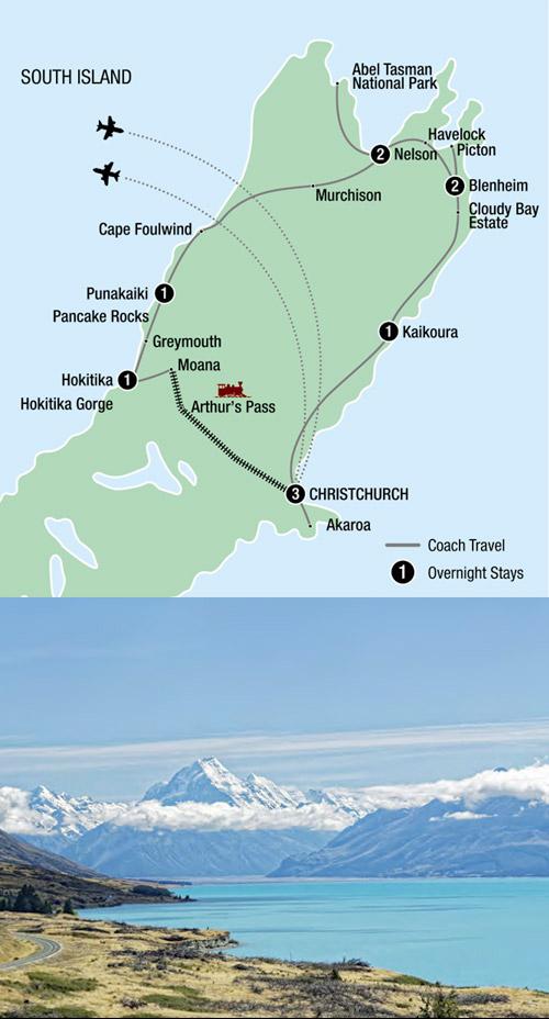 Discover pristine New Zealand.